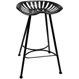 Picture of Black Tractor Barstool 29-in