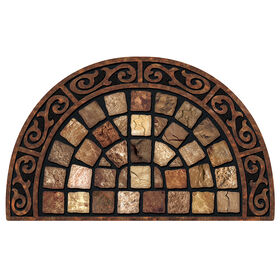 Picture of Roman Roads Slice Doormat 22 X 36-in