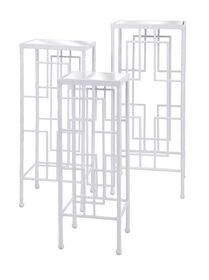 Picture of Arnaz Metal Bamboo Table, Medium