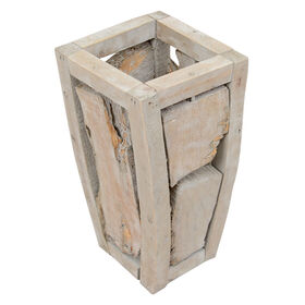 Picture of 15IN PCWOOD TALL PLANTER