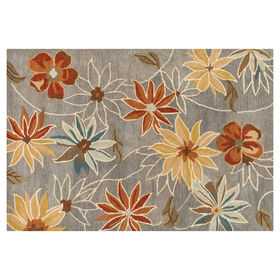 Picture of Emma Grey Rug 5x7-ft