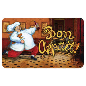 Picture of Running Chef Doormat 18 X 30-in