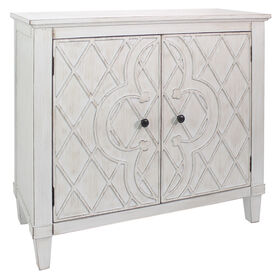 Picture of Coventry Cross Cabinet - White, 34-in.