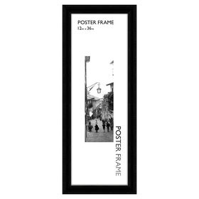 Picture of 12 X 36-in Black Beaded Poster Frame