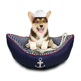 Picture of Nautical Pet Bed- 2-Piece