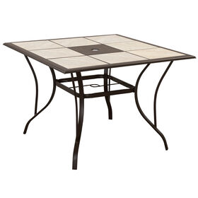 Brunspark Tile Table- 40 in.