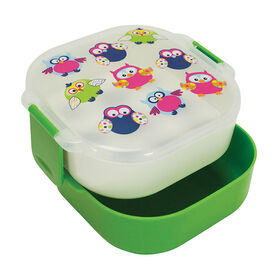 Picture of 3 Compartment Bento Box with Design