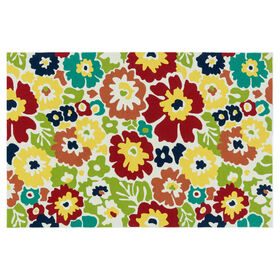 Picture of E137 Modern Floral Rug