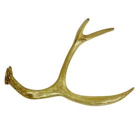 Picture of 18.25-in Gold Antler Tabletop Decor