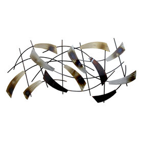Picture of 43 X 21-in Cluster Feather Wall Décor