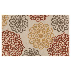 Picture of Layla Multi-Color Floral Rug- 27 x 45-in