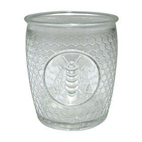 Picture of Bee Medallion 14 oz Double Old Fashion Glass - Set of 4