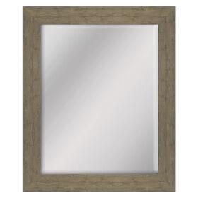 22 X 28-in Oak Wood Grain Mirror