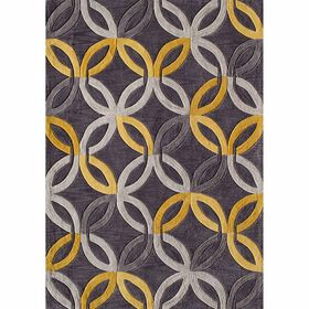 Picture of A230 Grey and Gold Algona Rug