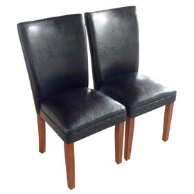 Picture of Cicero Leatherette Chair - Black
