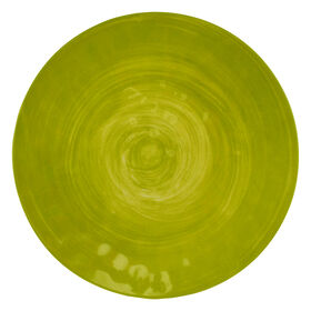 Picture of Green Spanish Tile Melamine Salad Plate