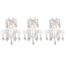 Picture of 10 LIGHT CLEAR CHANDELIER