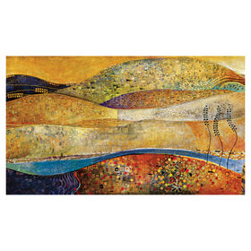 Picture of 36 X 62 Jeweled Field Gallery Art