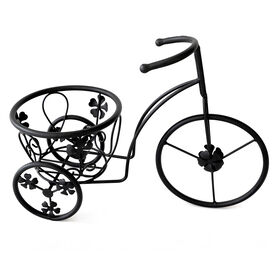 Picture of Black Small Tricycle Plant Stand - 10in