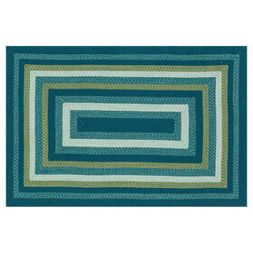Picture of E133 Blue Braid Rug