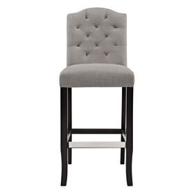 Picture of 30-in. Charlotte Chair, Gray and Black