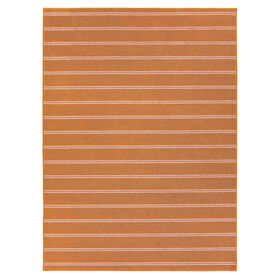 Picture of Orange Avery Stripe Rug 3 X 5 ft