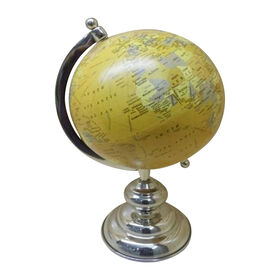 Picture of Silver and Yellow Globe 15 in.