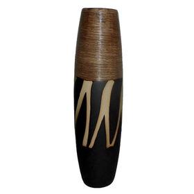 Picture of Safari Brown Bullet Vase- 16in