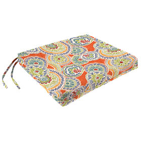Picture of Amanda Poppy Square Seat Cushion