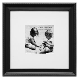 Picture of 10 X 10-in Black Stud Rope Matte Frame