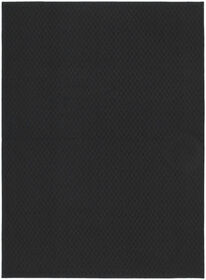 Picture of Solid Black Town Square Accent Rug 21 X 34-in