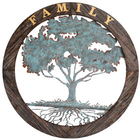 Picture of Family Tree Wall Art - 34-in