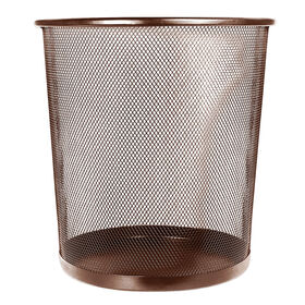 Picture of Mesh Wastebasket - Brown