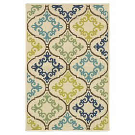 Picture of Floral Pendants Utility Rug 29 X 45-in