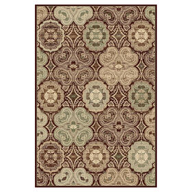 Picture of Dark Wine Basic Kent Rug 8 X 10 ft