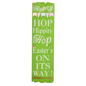 Picture of Green Hop Sign Hanger- 8.75 in.