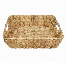 Picture of Woven Tray with Handle 15.3-in