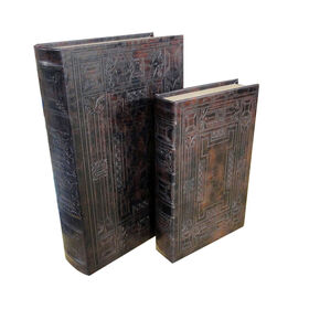 Picture of Maze Book Box, Large, 2 Assorted (sold separately)