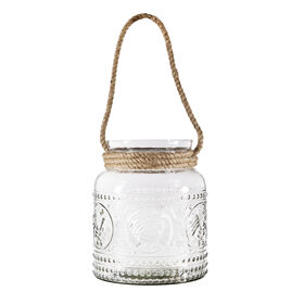Picture of Rooster Embossed Lantern - 8 in.