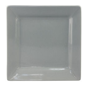 Picture of S/4 SQR SALAD PLATE GRAY