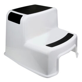 Picture of 2 STEP MOLD STOOL BLK/WHT