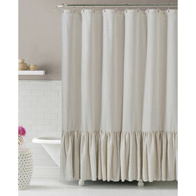 Picture of Gabriella Natural Linen Shower Curtain