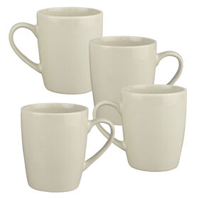 Picture of S/4 12 OZ MUG TAUPE
