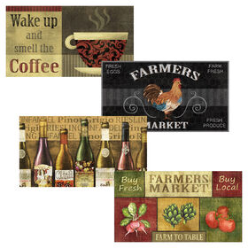Picture of Assorted Kitchen Foam Doormat 18 X 30-in