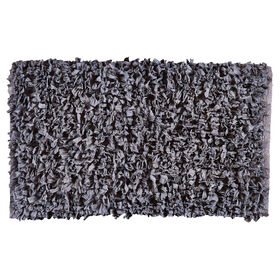 Picture of Gray Paper Shag Accent Rug 20 X 34-in