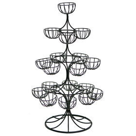Picture of Egg Ornament Tree, Black
