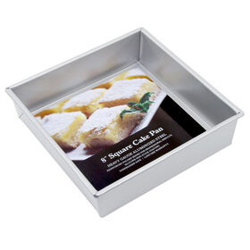 Picture of 8IN SQ ALUM STEEL CAKE PAN-NS