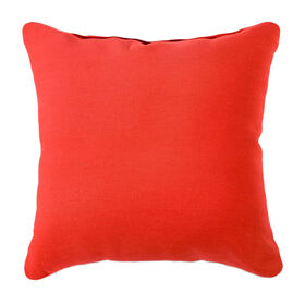 Picture of Duckcloth Pillow - Red, 25 in.