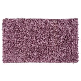 Picture of Purple Shiny Fur Shag Accent Rug 27 X 45-in