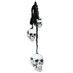Picture of Skull Strung Black Gauze